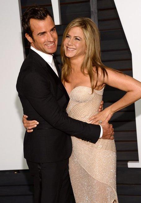 Justin Theroux ir Jennifer Aniston