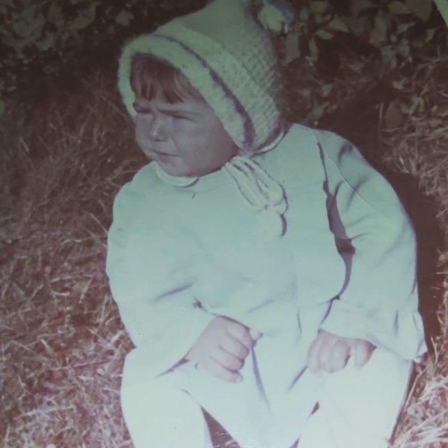 Aušrinė Gerikienė vaikystėje
