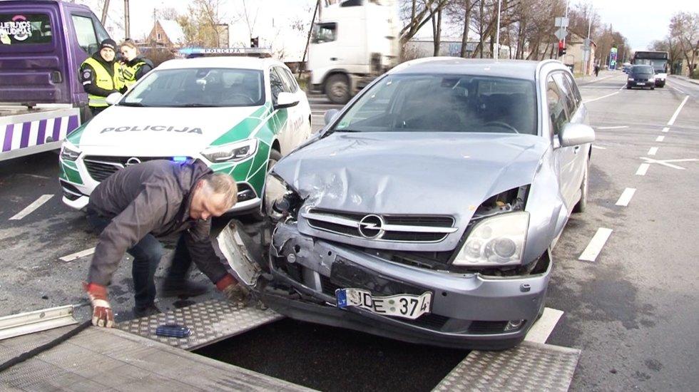 Greitosios avarija Panevėžyje