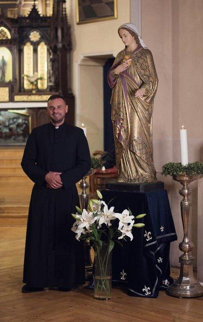 Druskininkų miesto Švč. M. Marijos Škaplierinės parapijai paskirtas klebonas Vaidas Vaišvilas