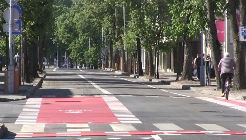 Palanga, Vytauto gatvė (nuotr.: tv3.lt)