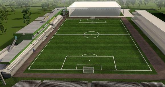 LFF stadiono tribūnos turėjo būti apdengtos stogu (nuotr. LFF.lt)
