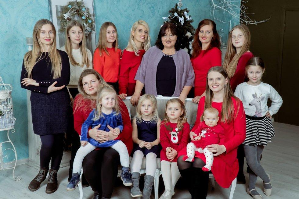 Šeimos moterys (Nuotr. Paulius Dautartas)