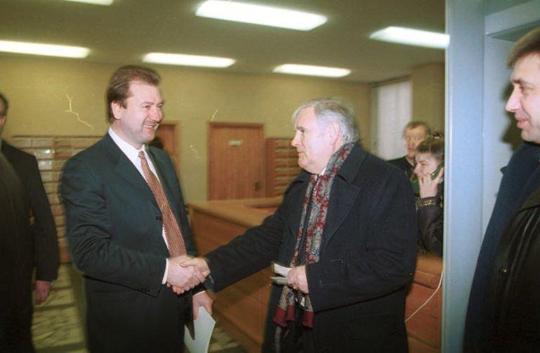 Viktoras Uspaskich ir Bronislovas Lubys