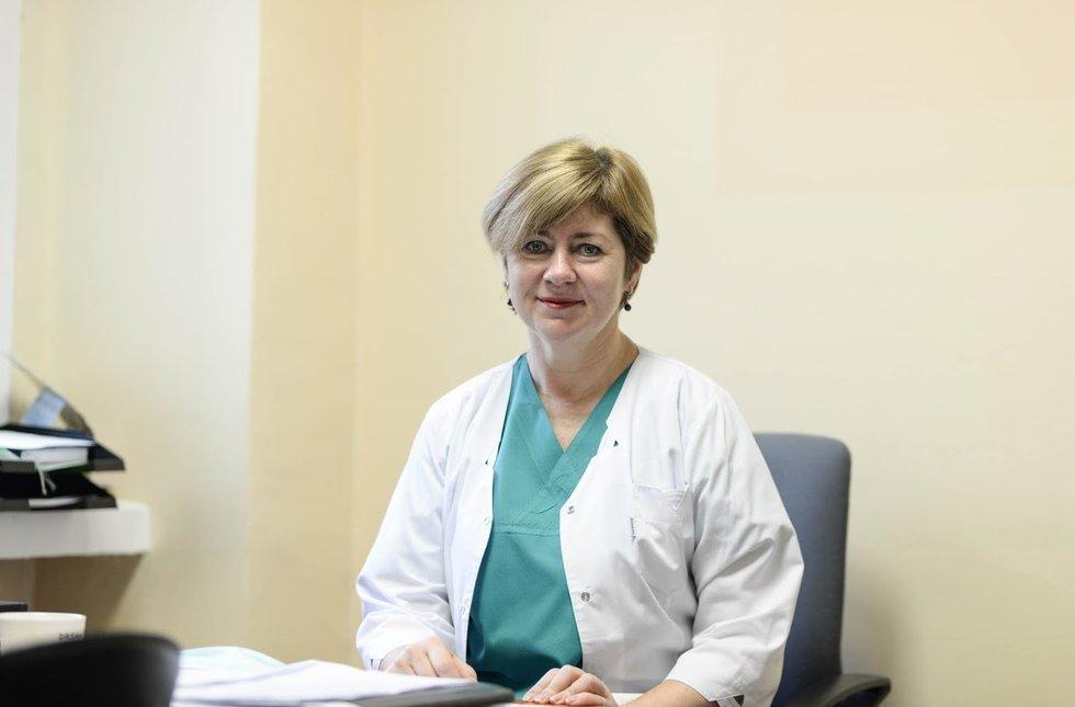COVID-19 skyriui vadovaujanti medikė: net miegodama galvoju apie COVID-19 pacientus
