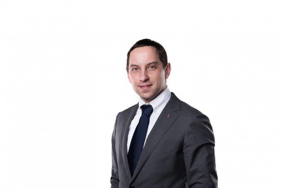 Mažmeninės prekybos ekspertas Justas Gavėnas (nuotr. asm. archyvo)
