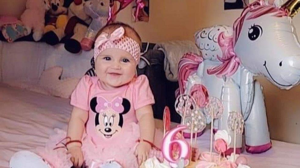 Šeimos skausmui ribų nėra: 6 mėnesių mergytė mirė šalia mamos