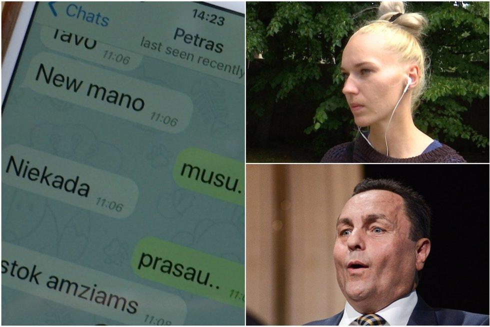 P. Gražulis susilaukė kūdikio su palangiške Birute Navickaite (TV3 koliažas)