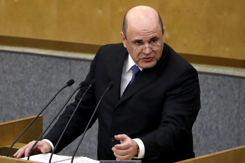 Michailas Mišustinas (nuotr. SCANPIX)