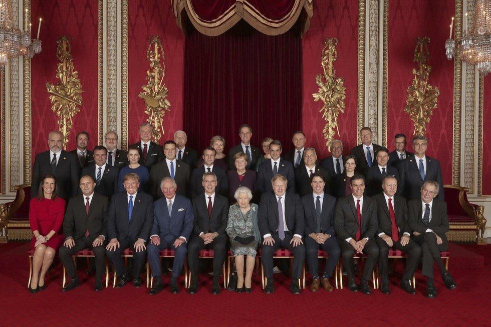 NATO lyderių susitikimas Londone (nuotr. Scanpix)