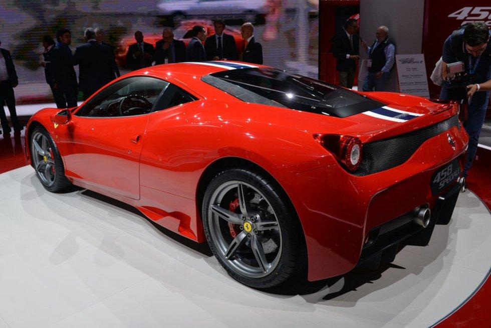 """Ferrari 458 Speciale"".  (nuotr. Gamintojo)"