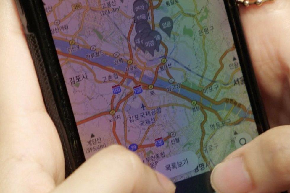 Pietų Korėjoje vakcinas medžioja kaip Pokemonus: laisvo skiepo žėmėlapyje ieško ir 10 dienų (nuotr. stop kadras)