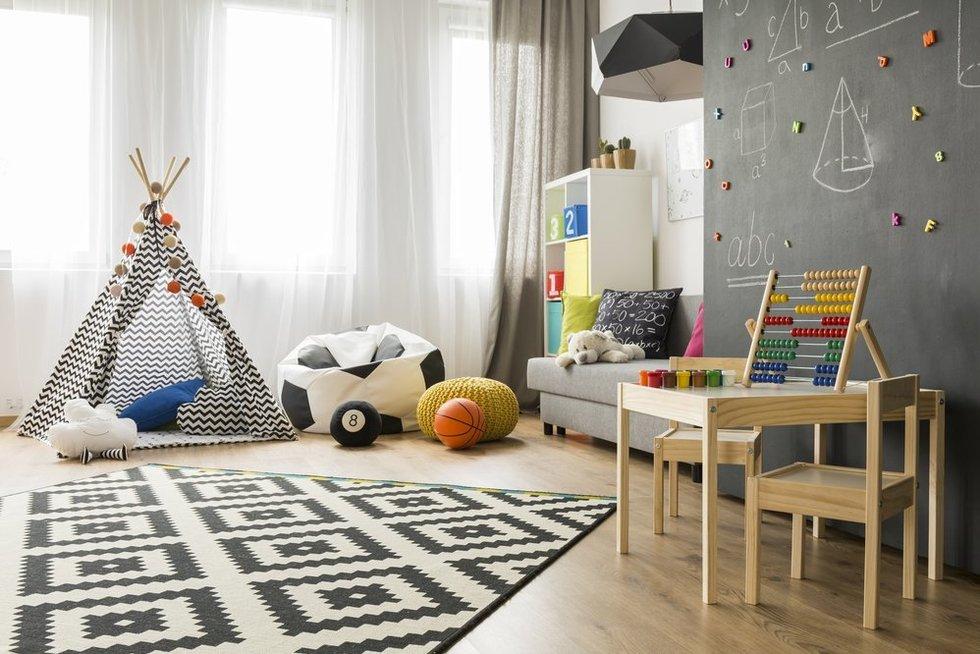 Patarimai, renkantis vaikų kambario baldus