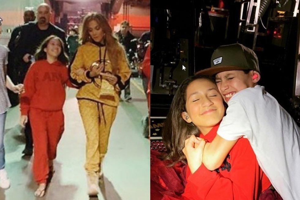 Jennifer Lopez dukra (nuotr. Instagram)