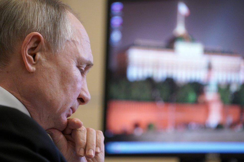 Įvertino Kremliaus veiksmus: tai politinis niekalas ir pralaimėjimas (nuotr. SCANPIX)