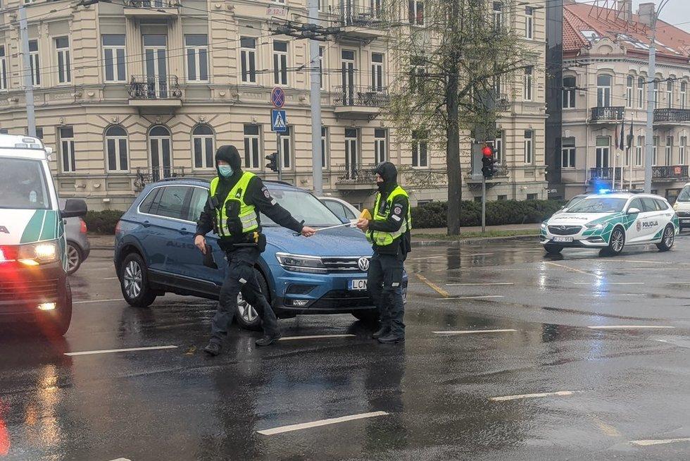 Justinas Jankevičius su šeima pateko į avariją (nuotr. Broniaus Jablonsko)