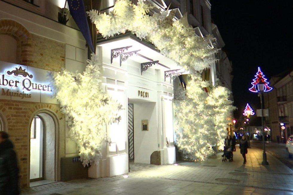 Kalėdinis Vilnius (nuotr. stop kadras)