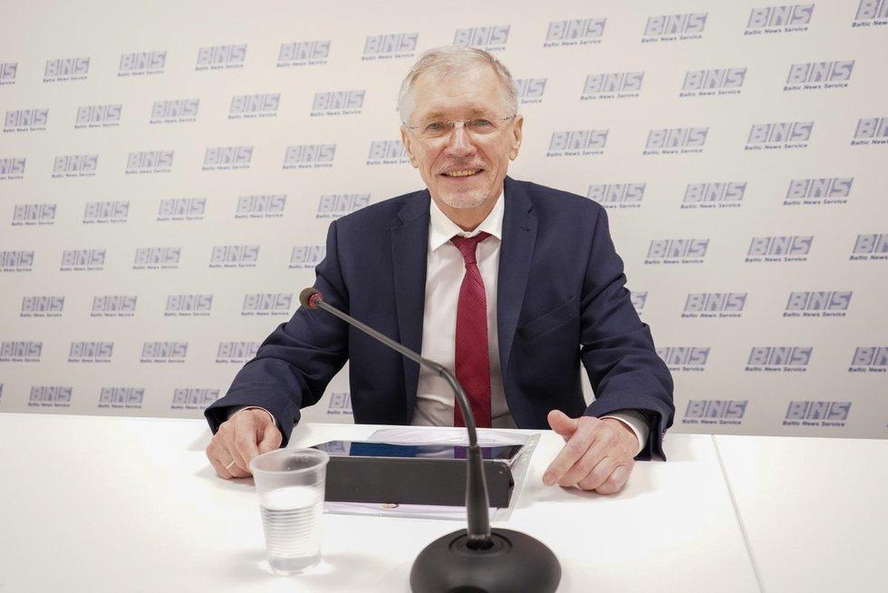 Socialdarbiečiai pristatė savo programą ir kandidatus (nuotr. Viltė Domkutė)