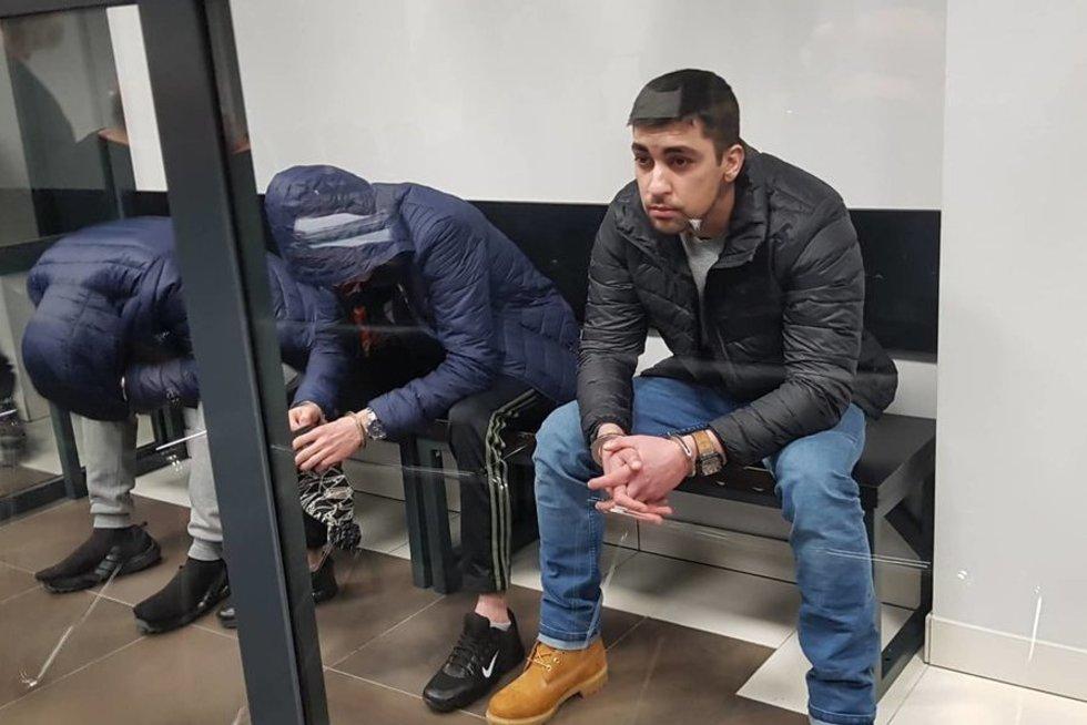 Strazdauskaitės žudikai (nuotr. TV3)