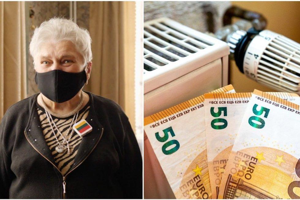 350 eurų pensijos gaunanti Anelė jau nebežino ką daryti: viską atiduoda už butą (nuotr. stop kadras)
