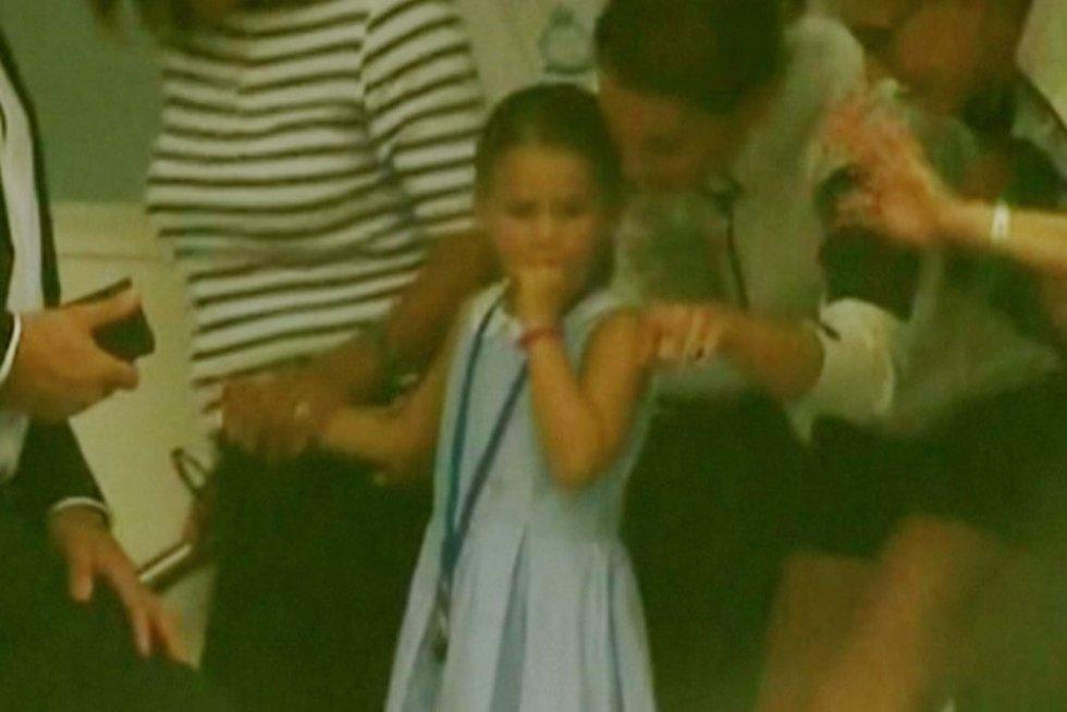 Princesė Šarlotė (nuotr. stop kadras)