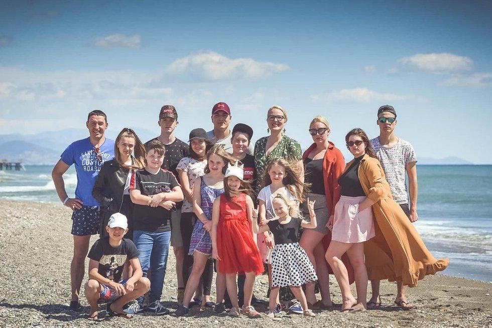 Eglės šeima priėmė ypatingą sprendimą: namuose klega 13 vaikų (nuotr. asm. archyvo)