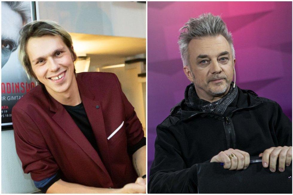Saulius Baradinskas ir Andrius Mamontovas (tv3.lt fotomontažas)