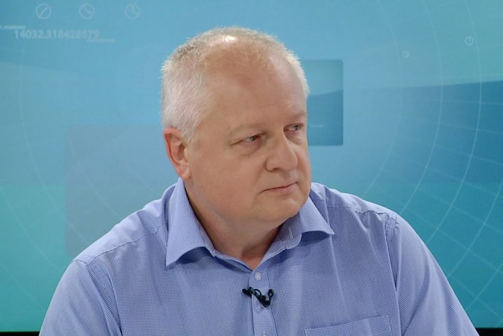 Greitosios medicinos pagalbos stoties direktorius Zdislavas Skvarciany (nuotr. stop kadras)