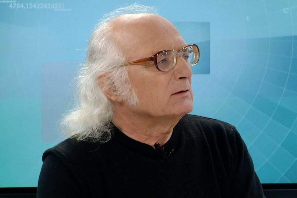 Etnologas Jonas Mardosa (nuotr. stopkadras)