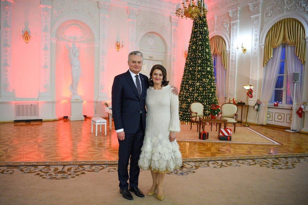 Gitanas ir Diana Nausėdos(nuotr. Robertas Dačkus)