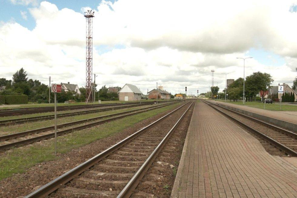 Pajūryje bręsta nauja idėja geležinkeliu sujungti Kretingą su Palangą (nuotr. stop kadras)