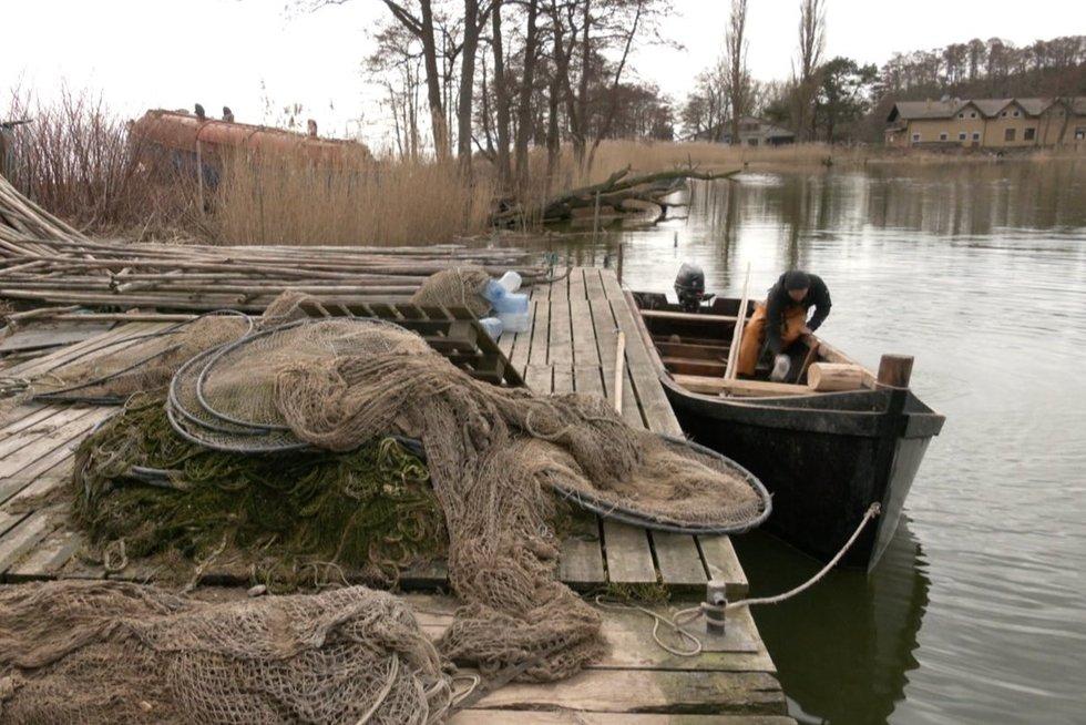 Žvejyba (nuotr. stop kadras)