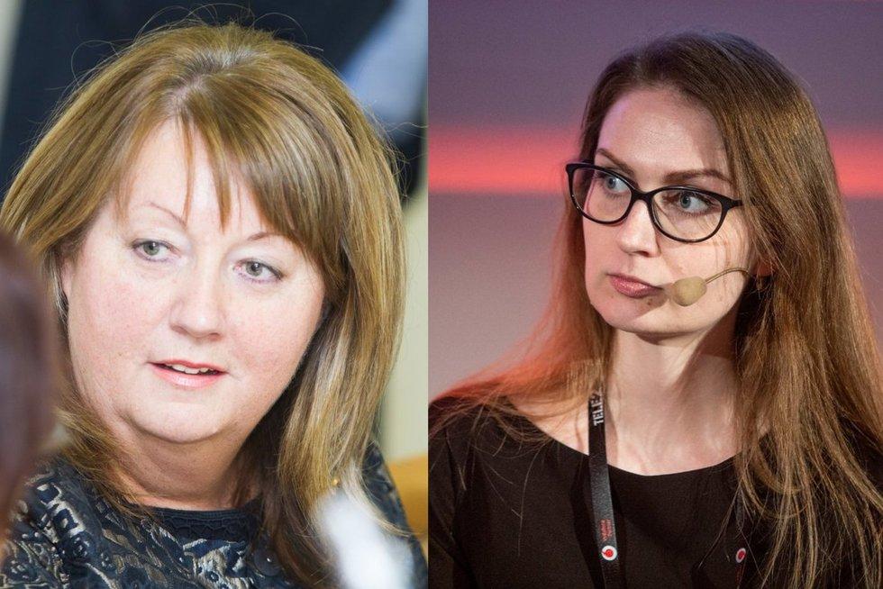 Vilija Blinkevičiūtė, Rima Urbonaitė (tv3.lt koliažas)