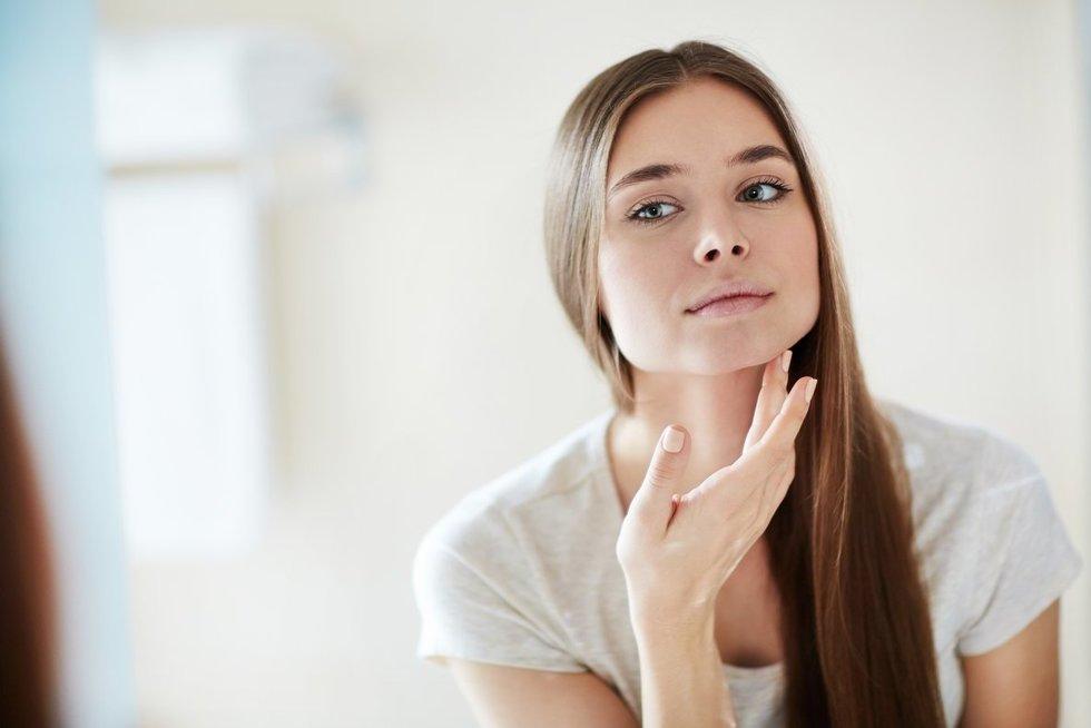 Moters veidas (nuotr. 123rf.com)