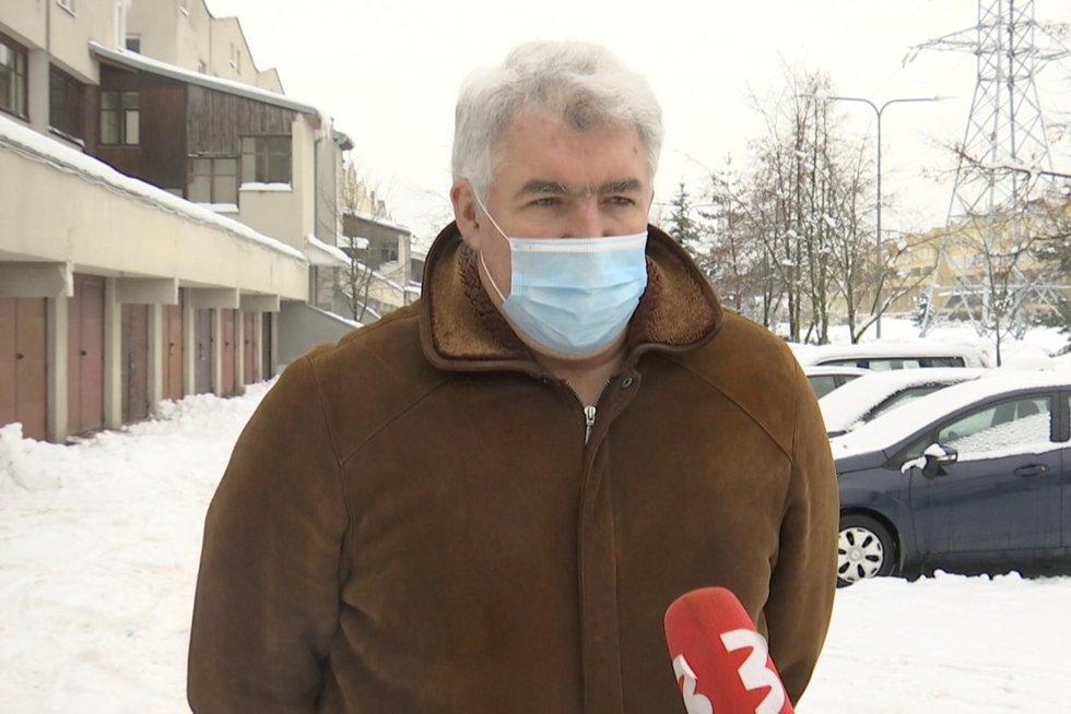 M. Laurinavičius (nuotr. stop kadras)