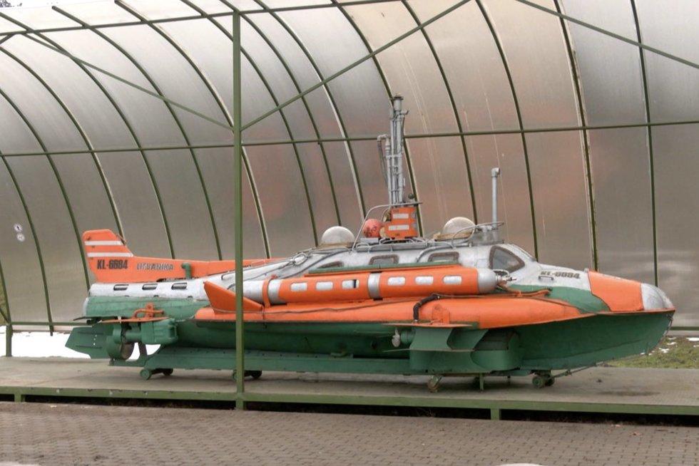 Lietuvos jūrų muziejuje – naujas ir išskirtinis eksponatas (nuotr. stop kadras)