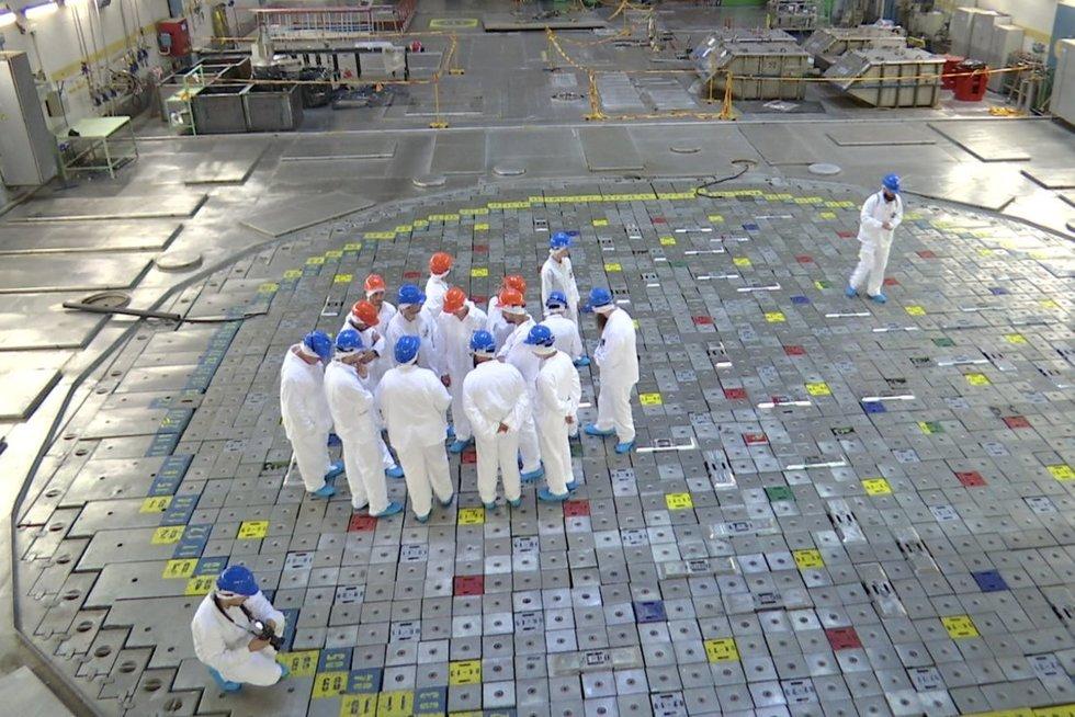 Atominė elektrinė. Asociatyvi nuotr. (stopkadras)