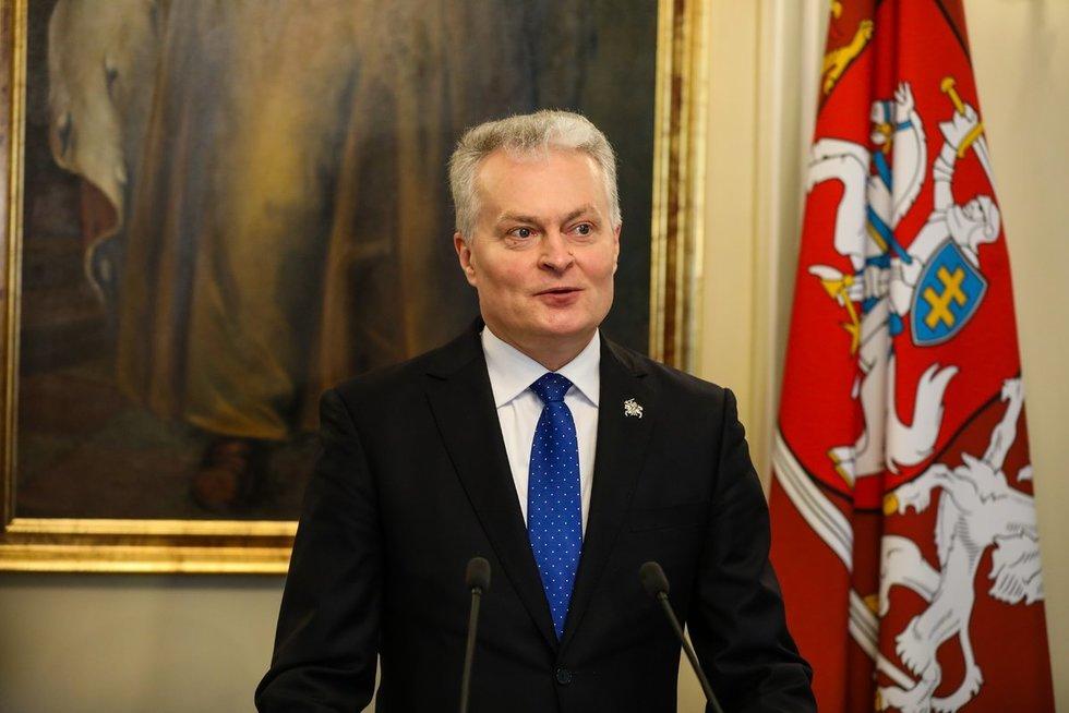 Gitanas Nausėda (Teodoras Biliūnas/Fotobankas)