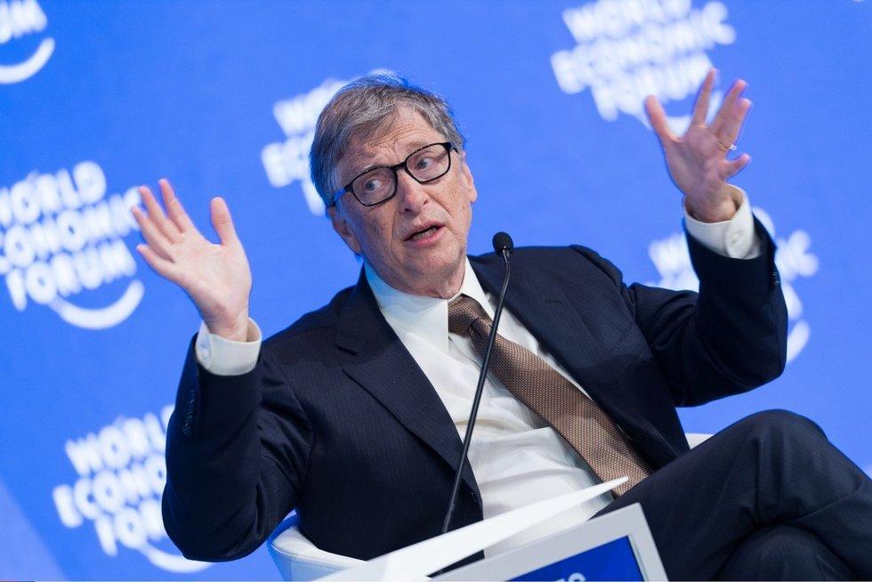 Bill Gates (nuotr. SCANPIX)