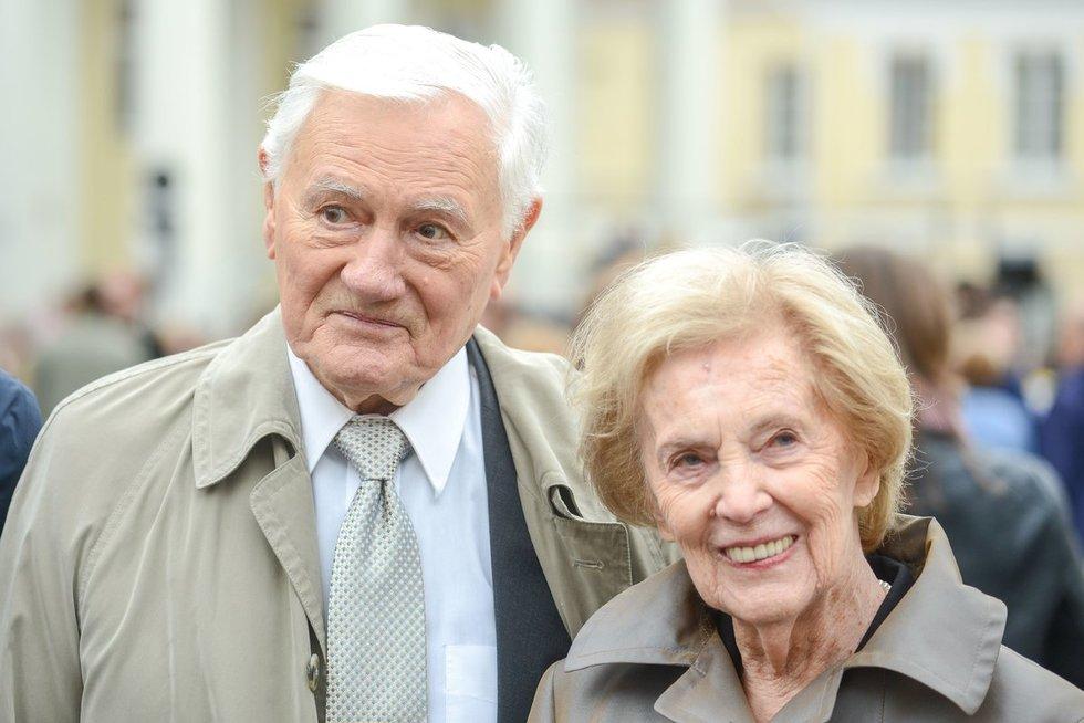 Alma ir Valdas Adamkai (Fotobankas)