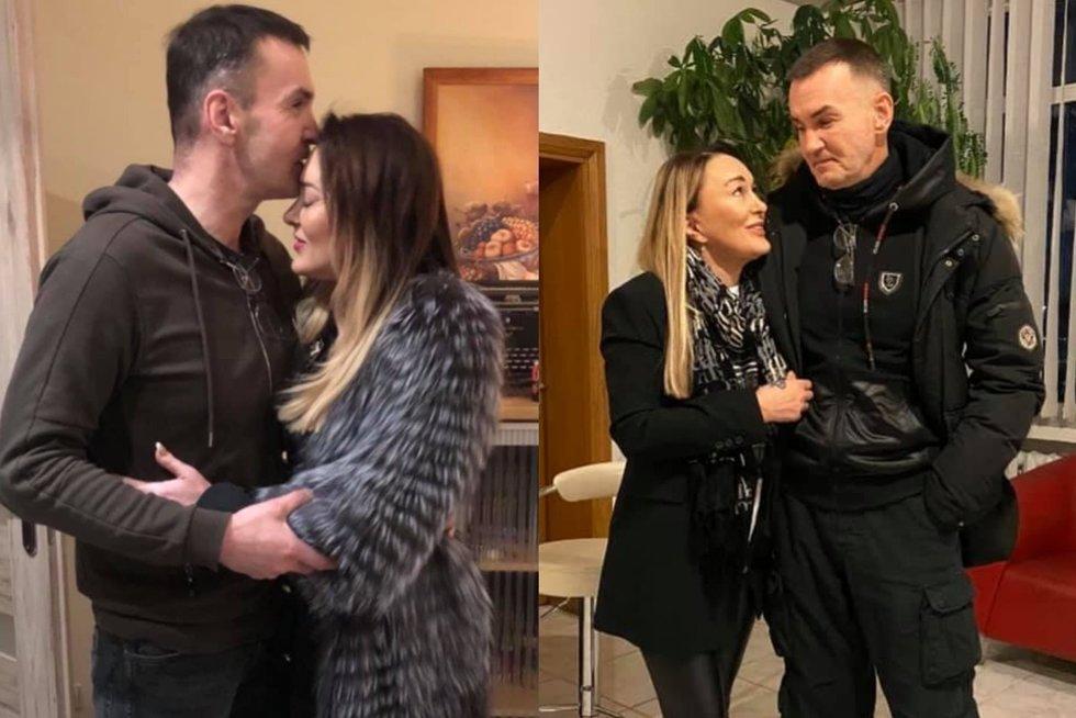 Džordana Butkutė ir Elegijus Strasevičius (nuotr. facebook.com)
