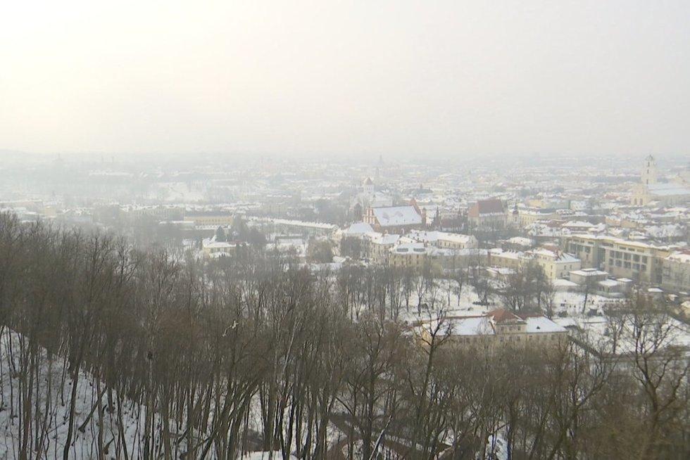 Oro tarša (nuotr. stop kadras)