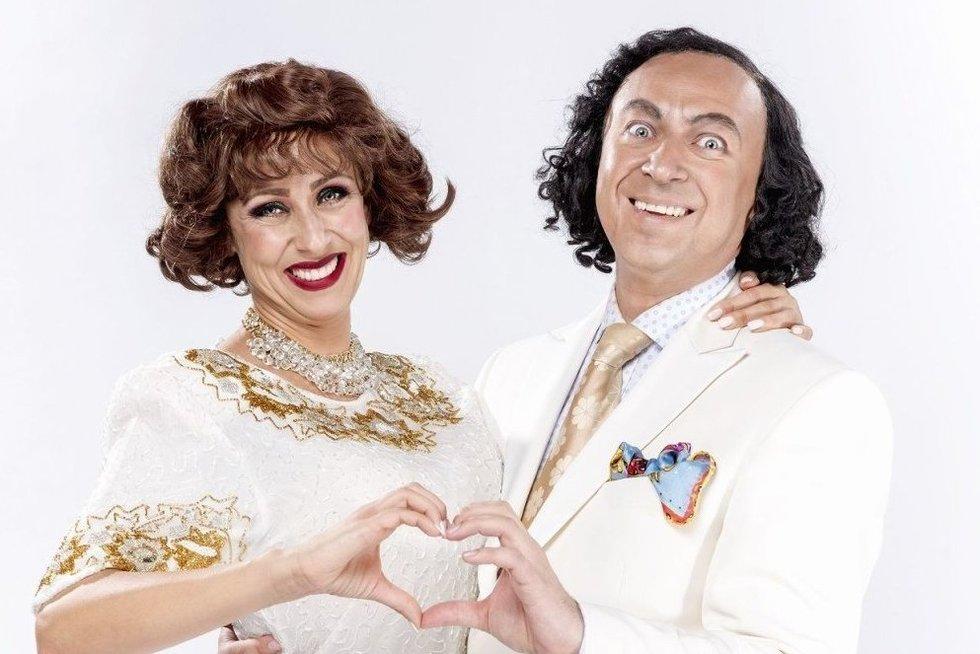 Džilda ir Orestas Vaigauskai (nuotr. Organizatorių)