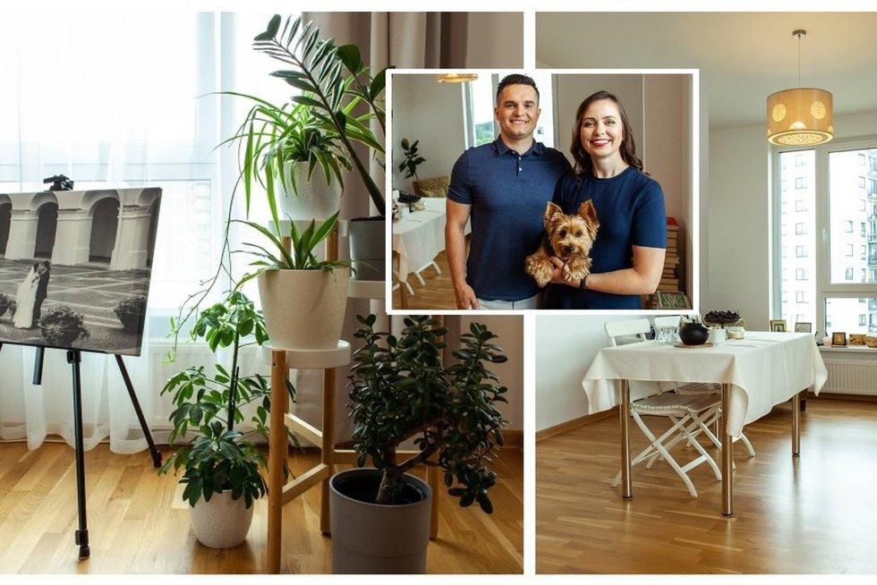 IKEA įrengė jaunos poros svetainę (nuotr. Organizatorių)