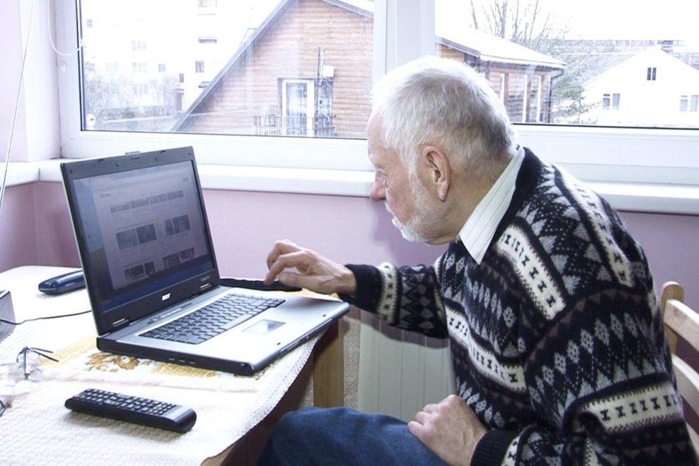 Panevėžio pensionas ryžosi pokyčiams: neįgaliesiems nupirko namą mieste (nuotr. stop kadras)