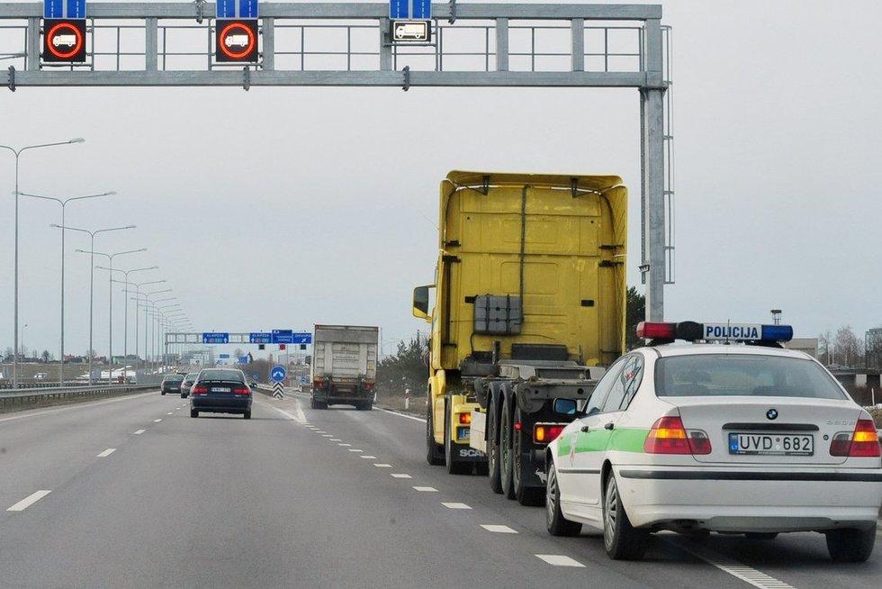kelias į Kauną (Algirdas Kubaitis/fotobankas.lt)