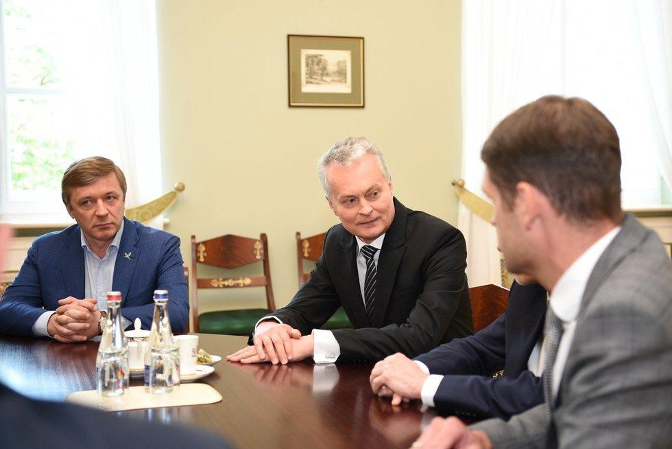 Koalicijos partijų lyderių susitikimas su Prezidentu (nuotr. Fotodiena)