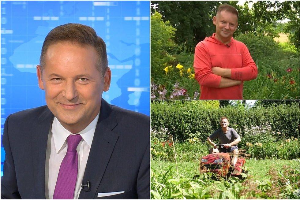 Garsusis TV3 žinių vedėjas atskleidė nematytą savo pusę: apie jo hobį sklando net ir gandai