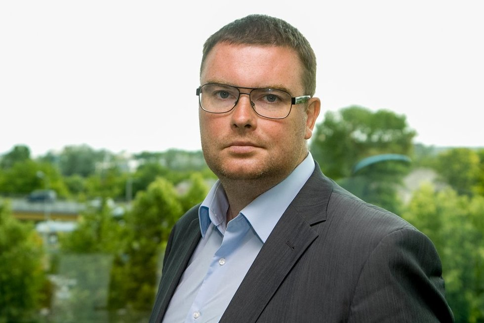 Marius Dubnikovas, Compensa Life Verslo plėtros vadovas. (nuotr. Tv3.lt/Ruslano Kondratjevo)