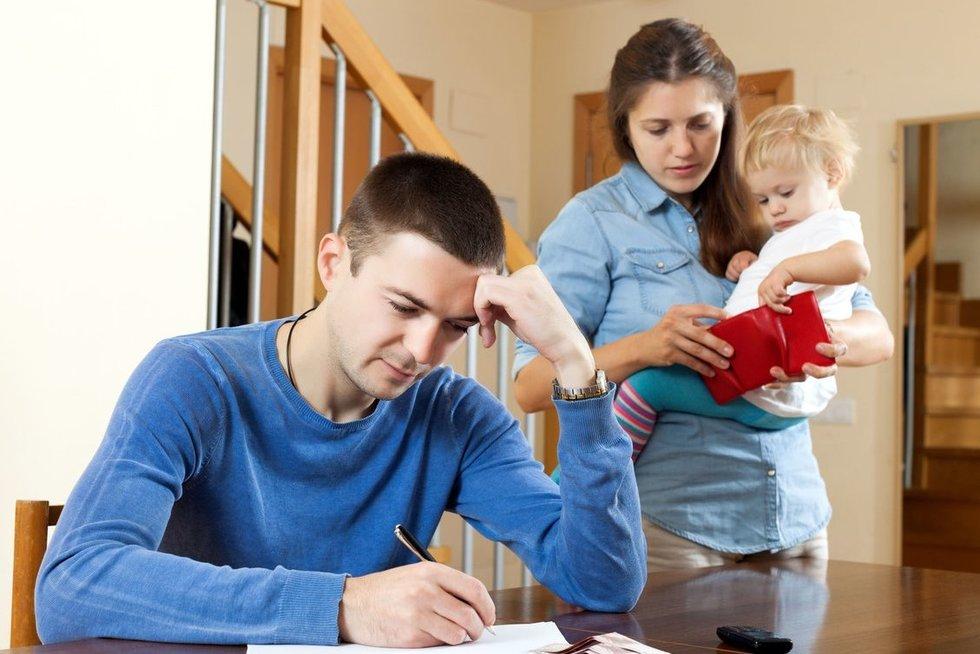Šeima, finansai,  (nuotr. 123rf.com)